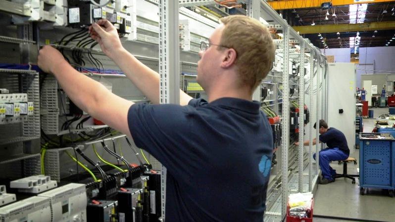 ATR - Verdrahtung-Schaltanlage