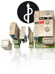 Mehrere Bauteile aus der Regelelektronik