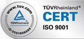 TÜV Rheinland - ISO 9001
