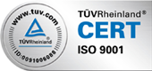 TÜV-Zertifikat ISO 9001 - ATR Industrie-Elektronik