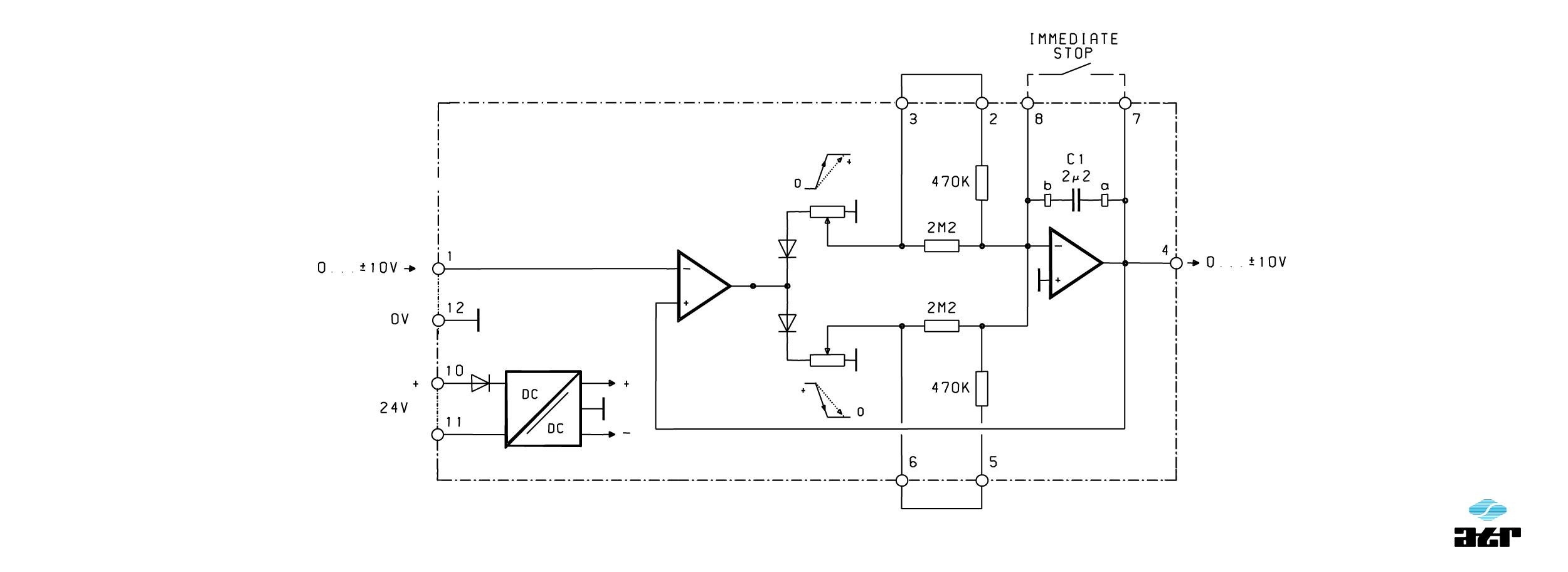 Anschlussplan: ATR Analoge Signalverarbeiter IM31