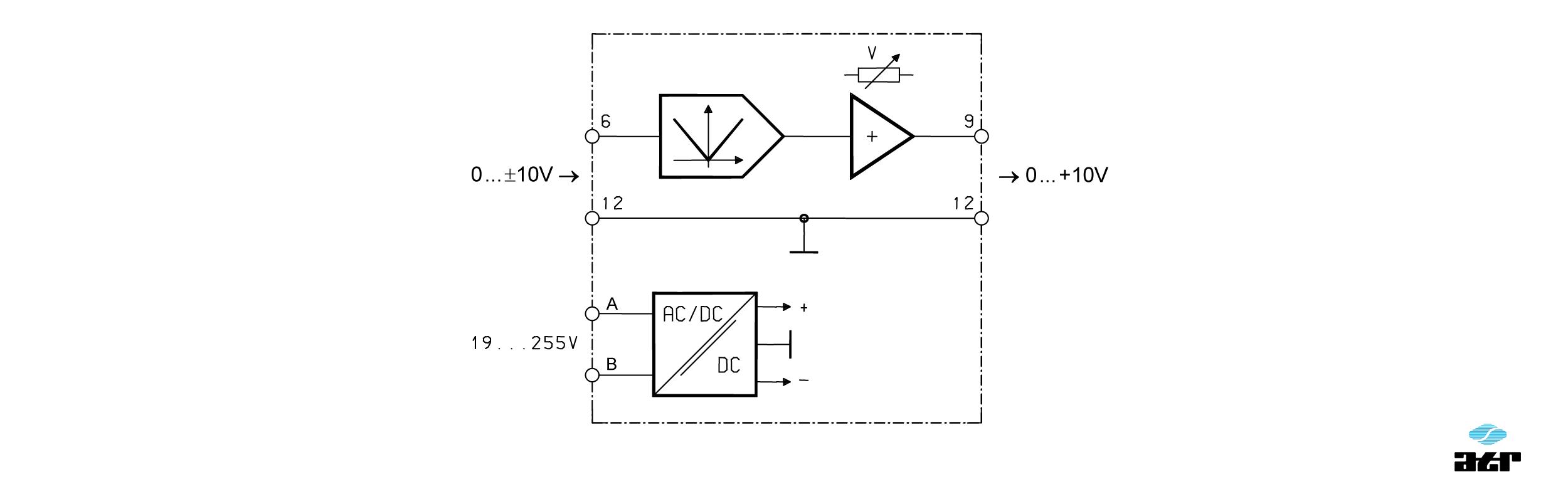Anschlussplan: ATR Analoge Signalverarbeiter VM237F