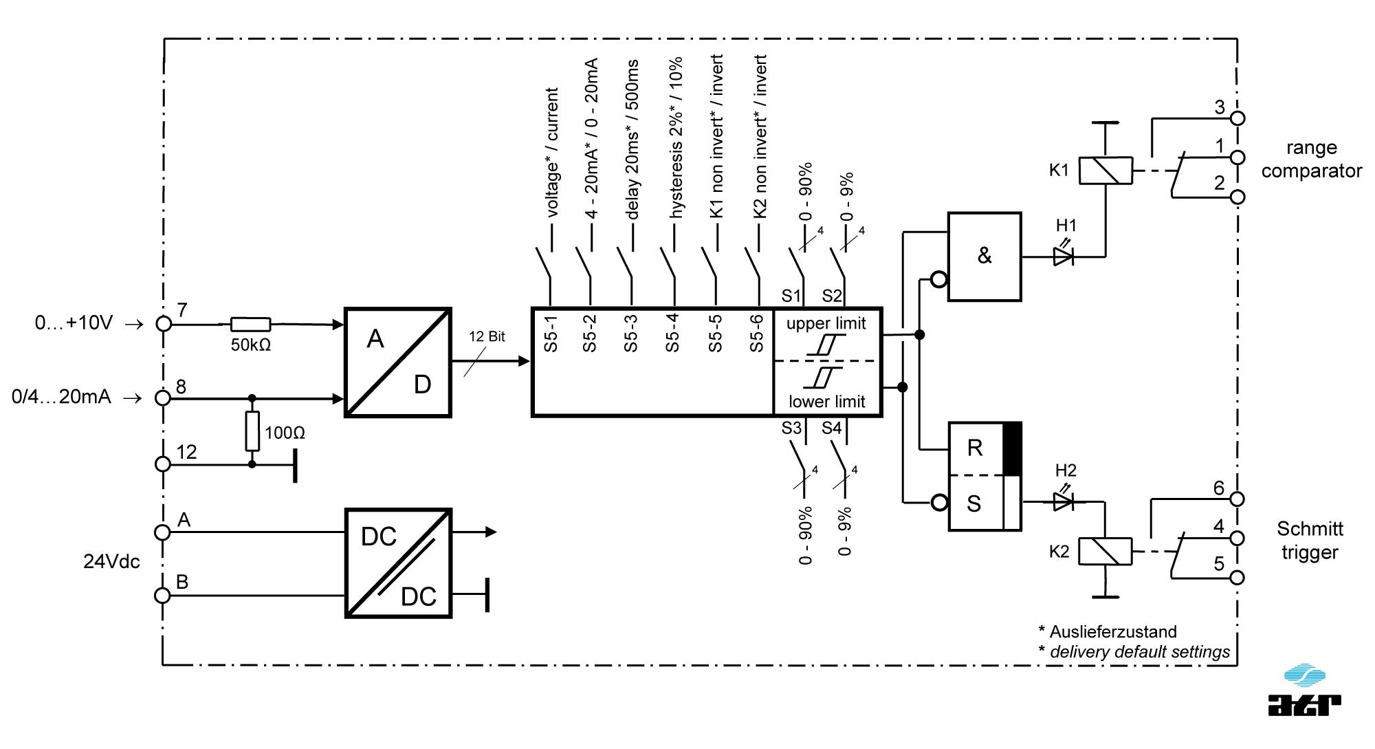 Anschlussplan: ATR Grenzwertschalter KM42