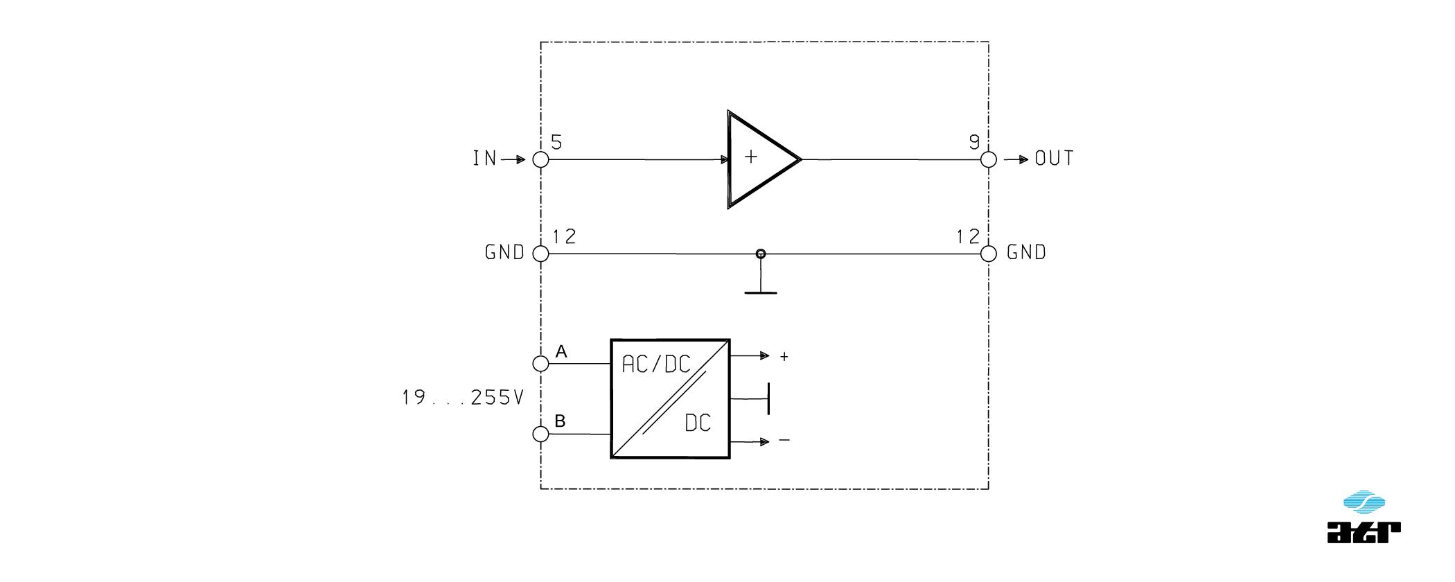 Anschlussplan: ATR Messverstärker VM237/1-VM238/P