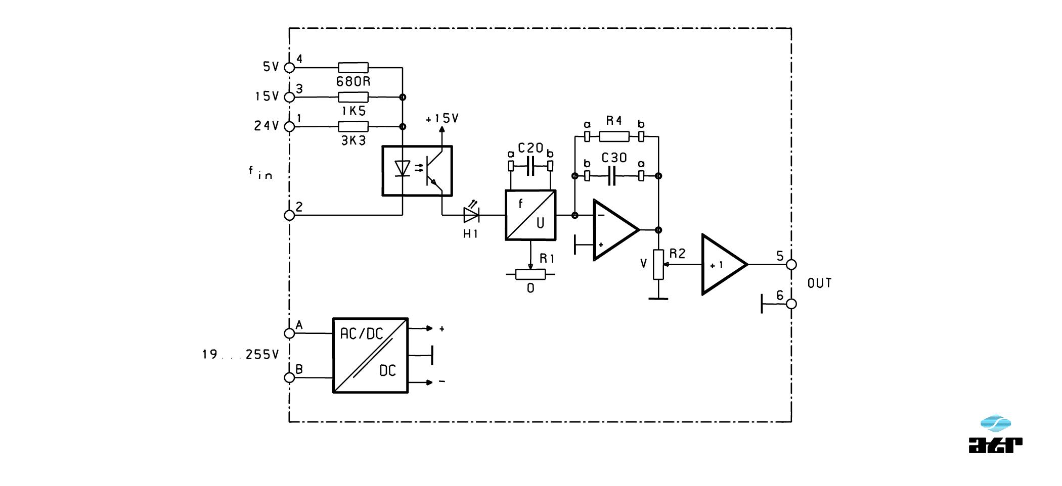 Anschlussplan: ATR Messverstärker VM275-VM276