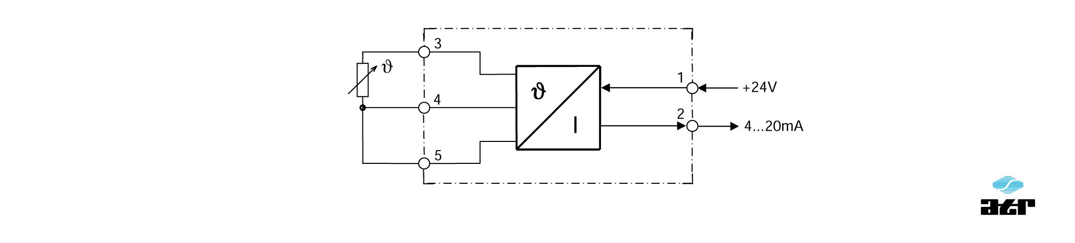 Anschlussplan: ATR Messverstärker VT52