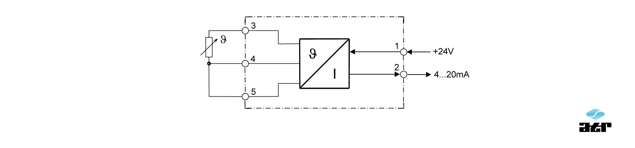 Anschlussplan: ATR Messverstärker VT57