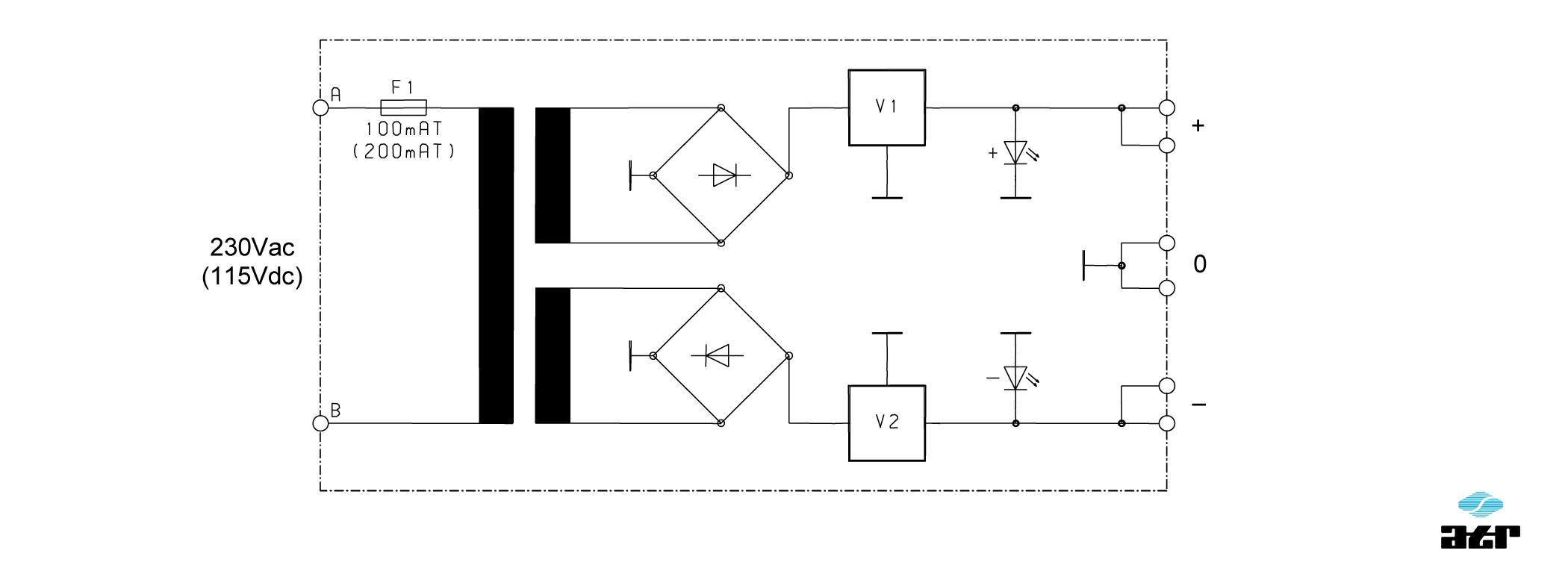 Anschlussplan: ATR Netzgerät NM200 + NM210