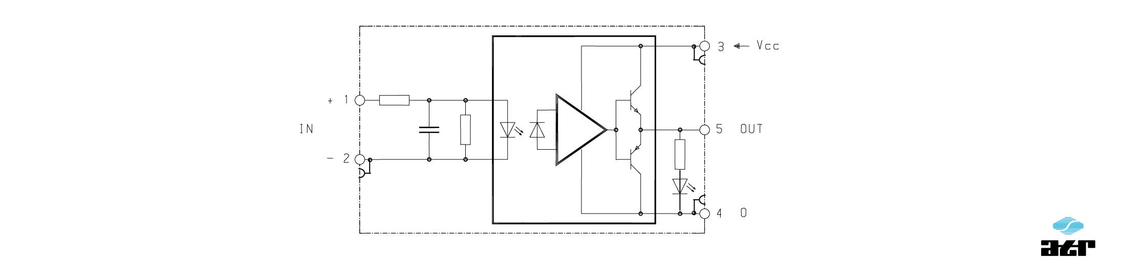 Anschlussplan: ATR Passiver Optokoppler OT1 + OT2