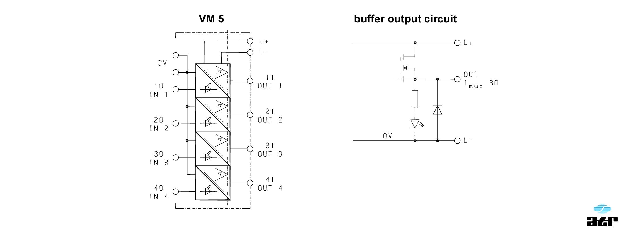Anschlussplan: ATR Passiver Leistungsoptokoppler VM5