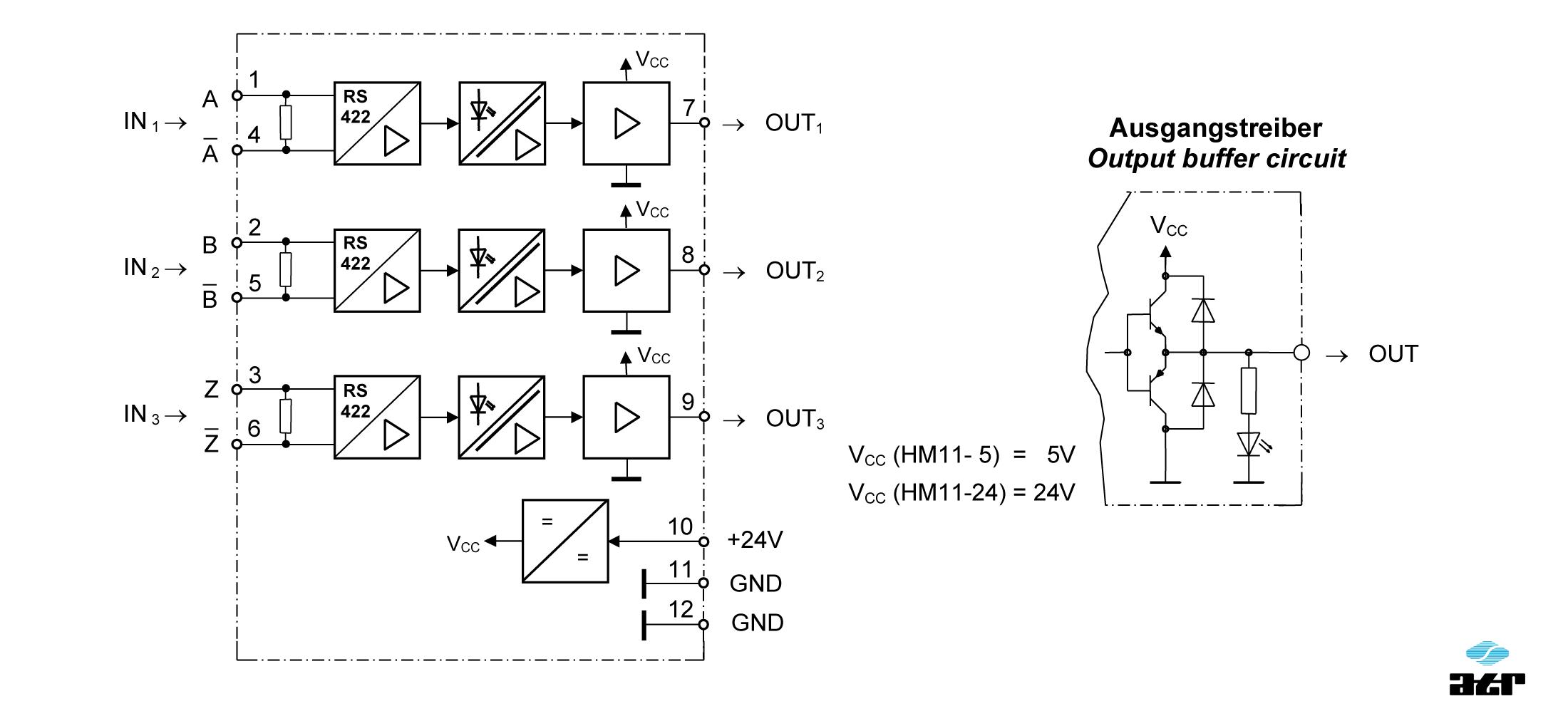 Anschlussplan: ATR Pegelumsetzer HM11