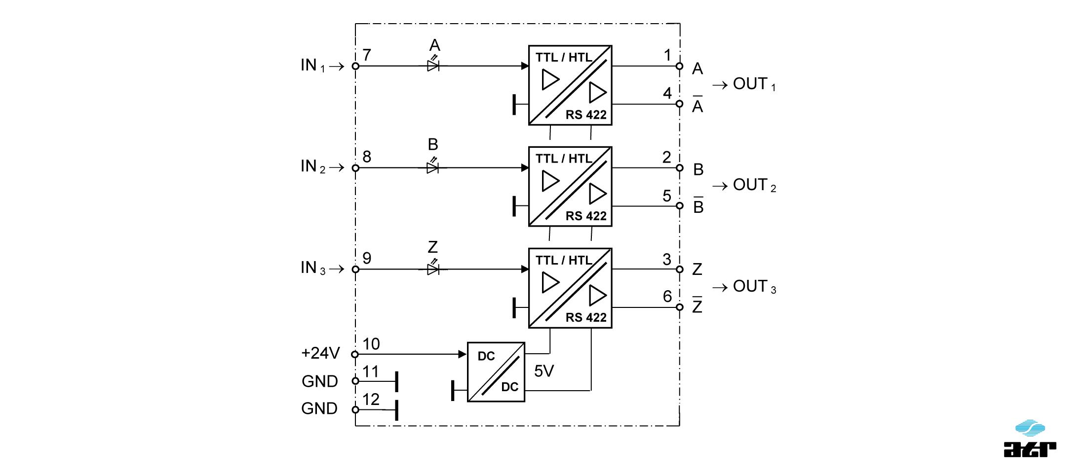 Anschlussplan: ATR Pegelumsetzer HM13