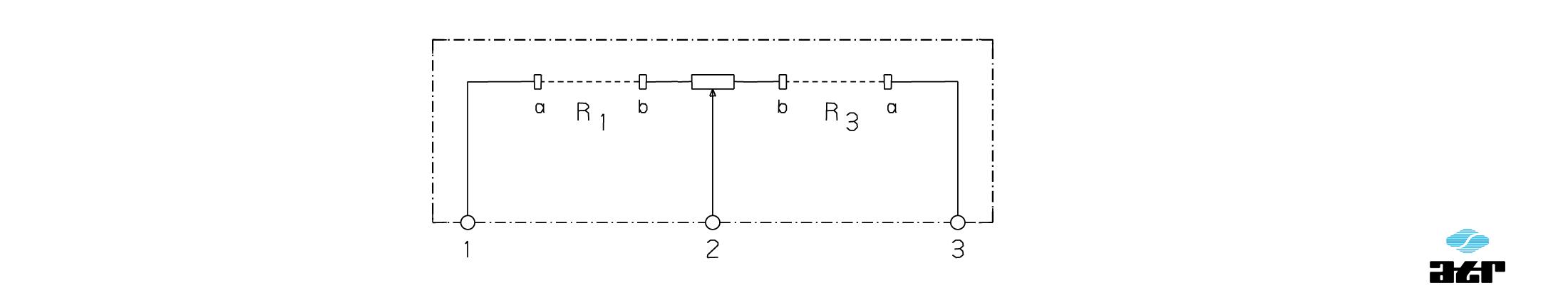 Anschlussplan: ATR Potentiometer-Einheit UG5 + UG6