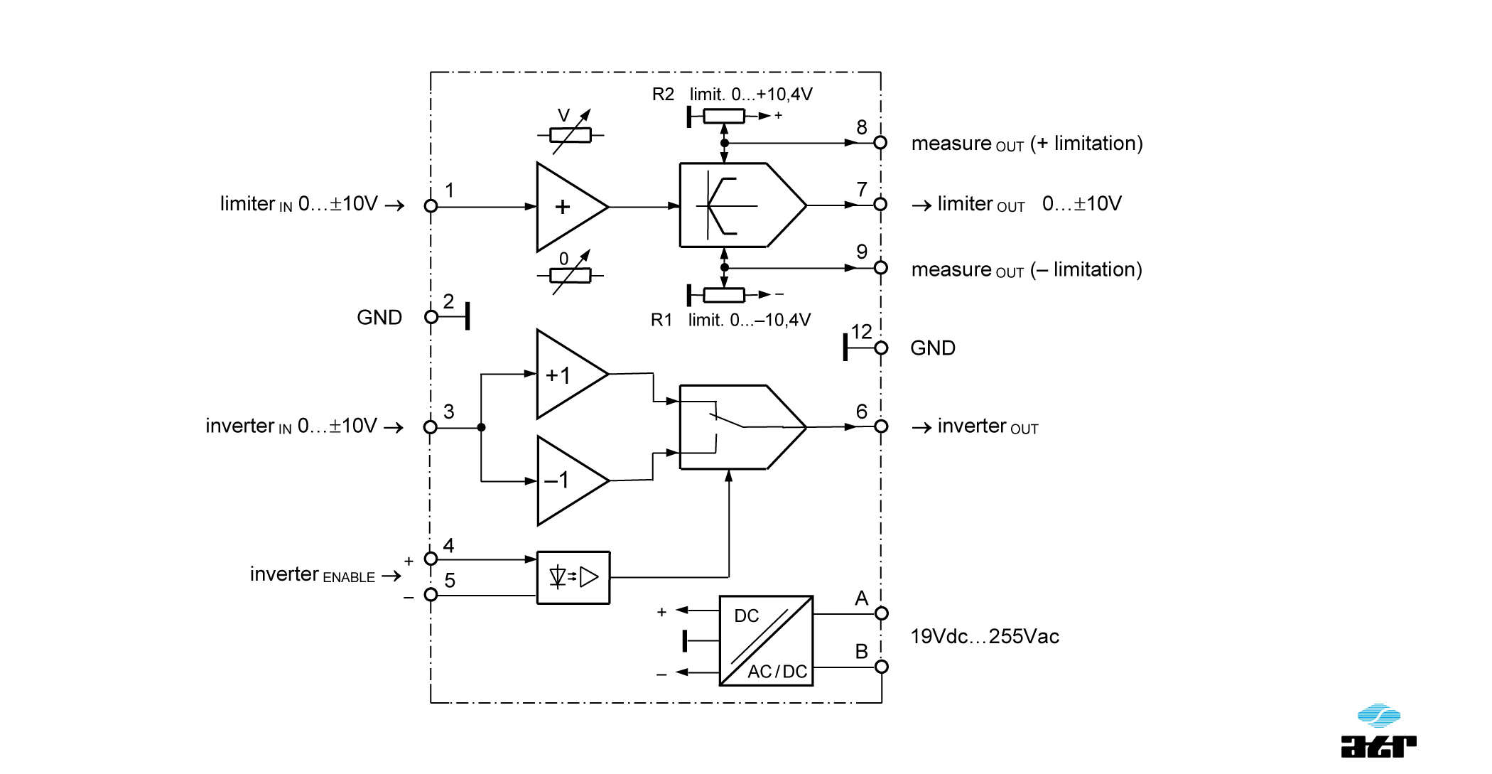 Anschlussplan: ATR Verstärker VM290