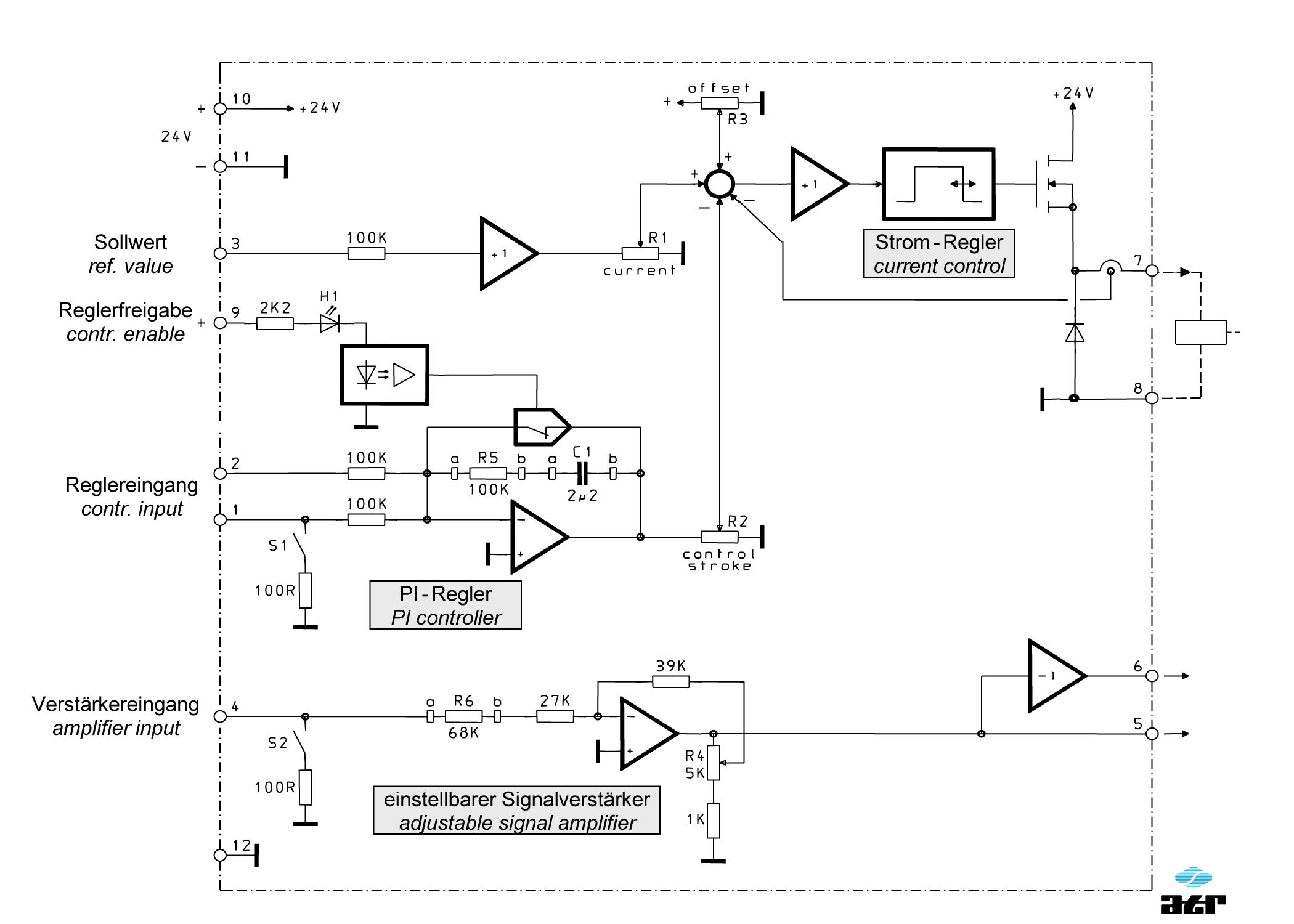 Anschlussplan: ATR Verstärker VM6-VM8-VM9